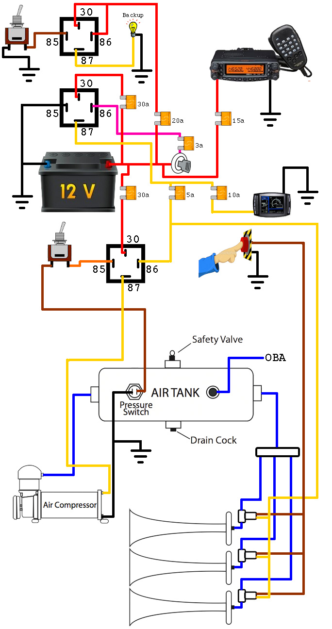 Wiring on 85 Toyota Pickup Wiring Diagram