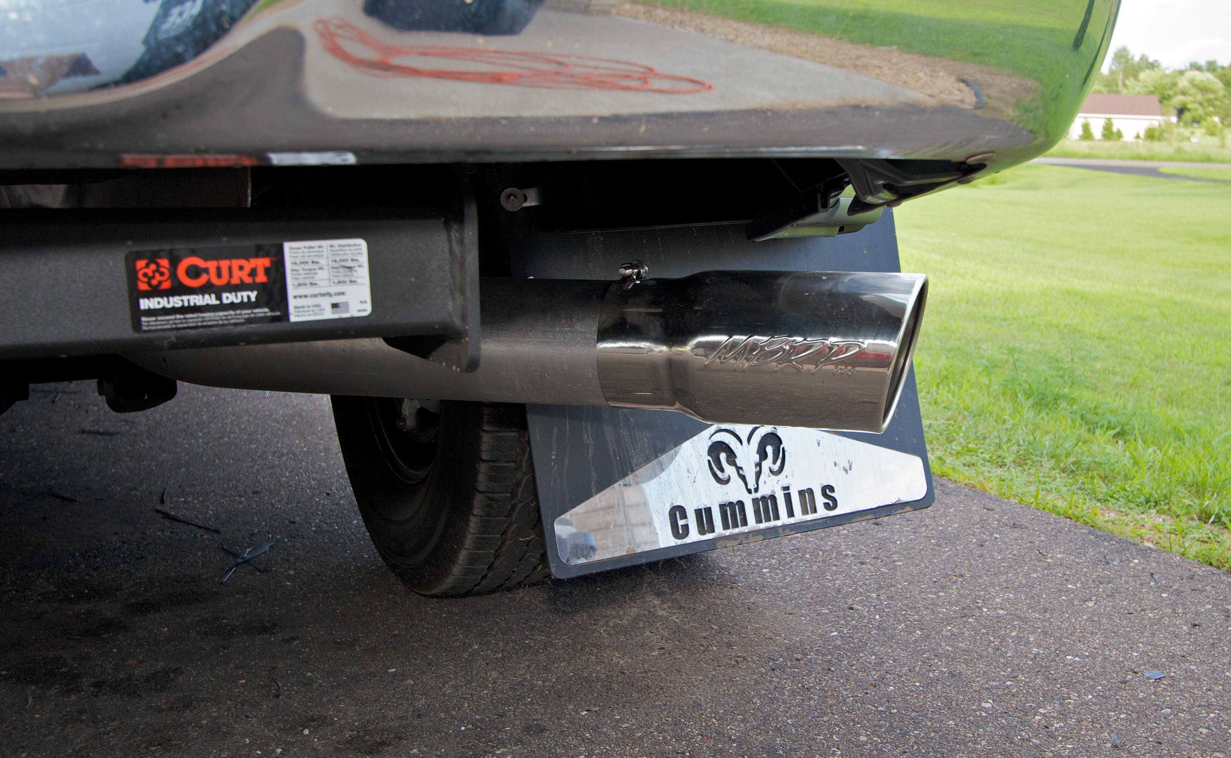 To Mud Flap or not to Mud flap Page 4 Dodge Cummins Diesel Forum